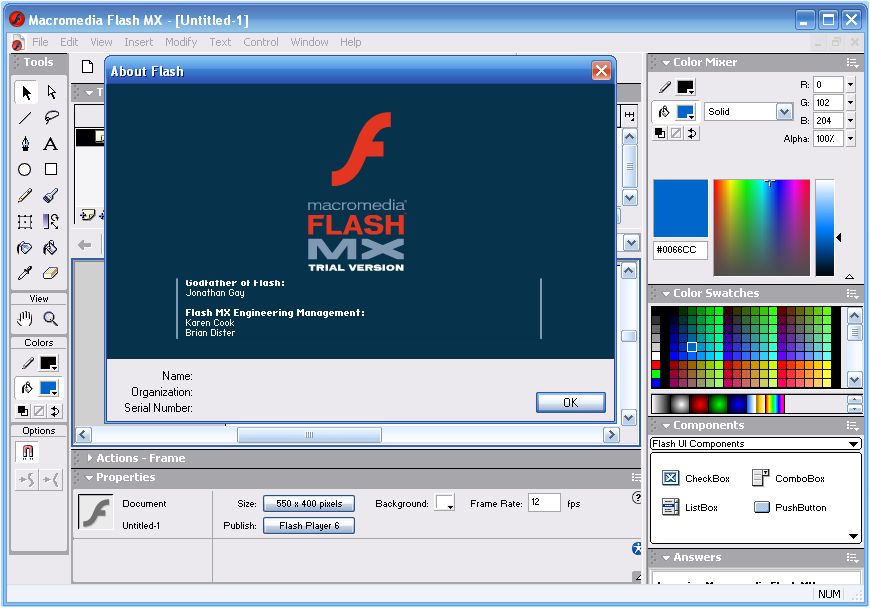 Smart-serials - serials for macromedia flash mx 6 unlock with serial key