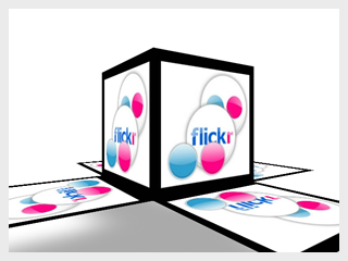Flickr Box AIR App
