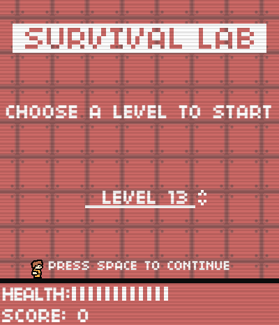 Survival Lab Flash game critique