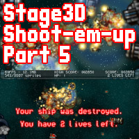 Build a Stage3D Shoot-Em-Up: Score, Health, Lives, HUD and Transitions  Tuts+ Premium