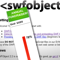 Pass Values to a SWF with JavaScript and SWFObject