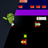 Flash for Android: Flixel Frogger on Nexus One and HTC Evo