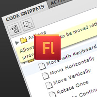 Quick Tip: Exploring the Flash CS5 Code Snippets Panel