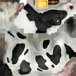 source: Not a real cow skin
