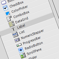 Quick Introduction: Flash Button and Label Components