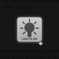 Quick Tip: Dim the Lights using Flash and jQuery