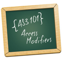 AS3 101: Quick Tip  Use Access Modifiers Effectively