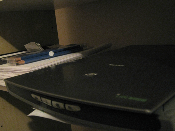 A photo of a scanner.