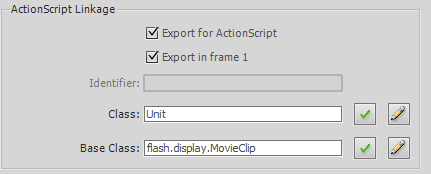 Exporting the Unit