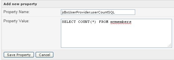 jdbcUserProvider userCountSQL