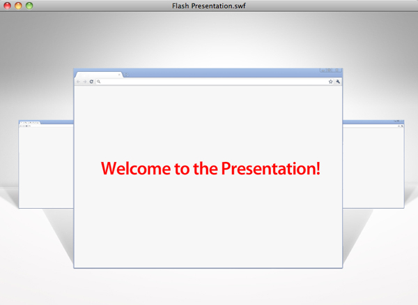 flash presentation design