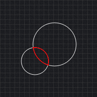 Collision Detection Between Circles
