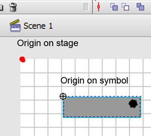 Coordinate space for stage.