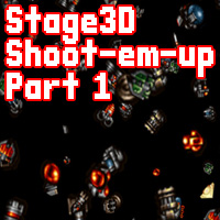 Build a Stage3D Shoot-Em-Up: Sprite Test