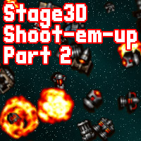 Build a Stage3D Shoot-&#8217;Em-Up: Interaction