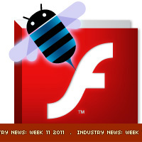 Flash Player 10.2 for Android, and M2D for Molehill